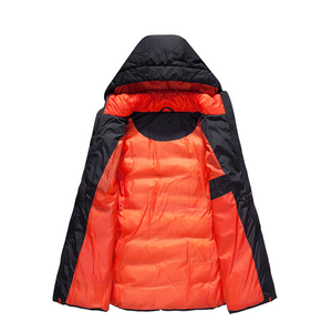 Boys Puffer Padded Winter Warm Coat Detachable Hood