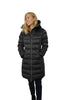 Mid Length Ladies Coat with Faux Fur Lining - The Whole Shebang