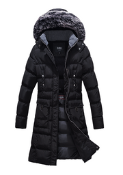 Mid Length Cargo Coat 7 Pockets with Removable Hood - The Whole Shebang