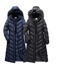 Full Length Coat with Detachable Hood - The Whole Shebang