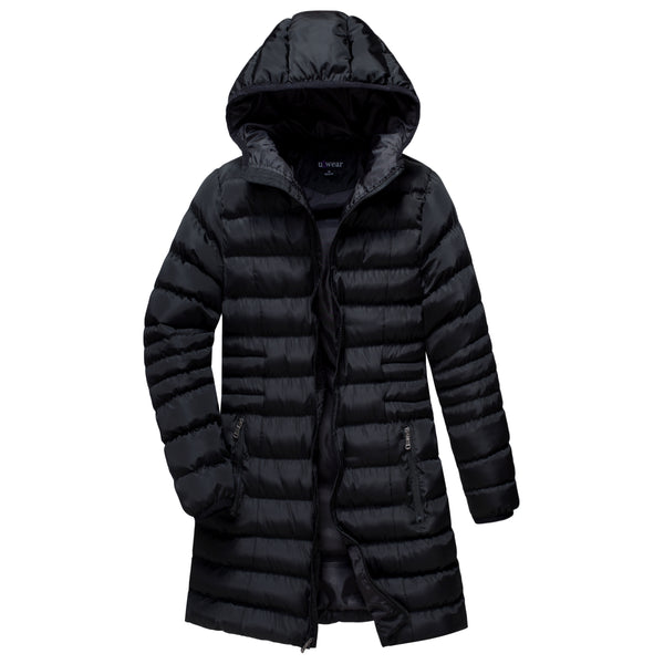 Women's Zip Front Puffer coat