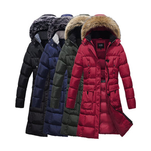 Mid Length Cargo Coat 7 Pockets with Removable Hood