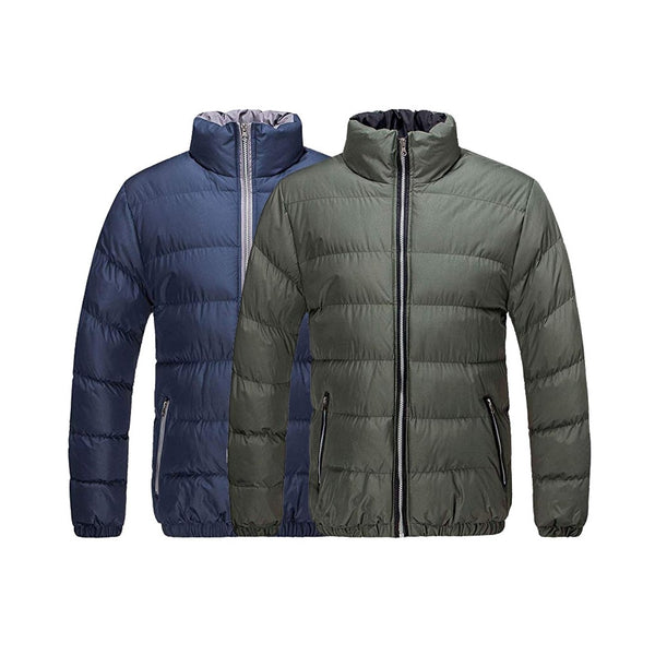 Men's Classic Puffer  Coat Water Resistant