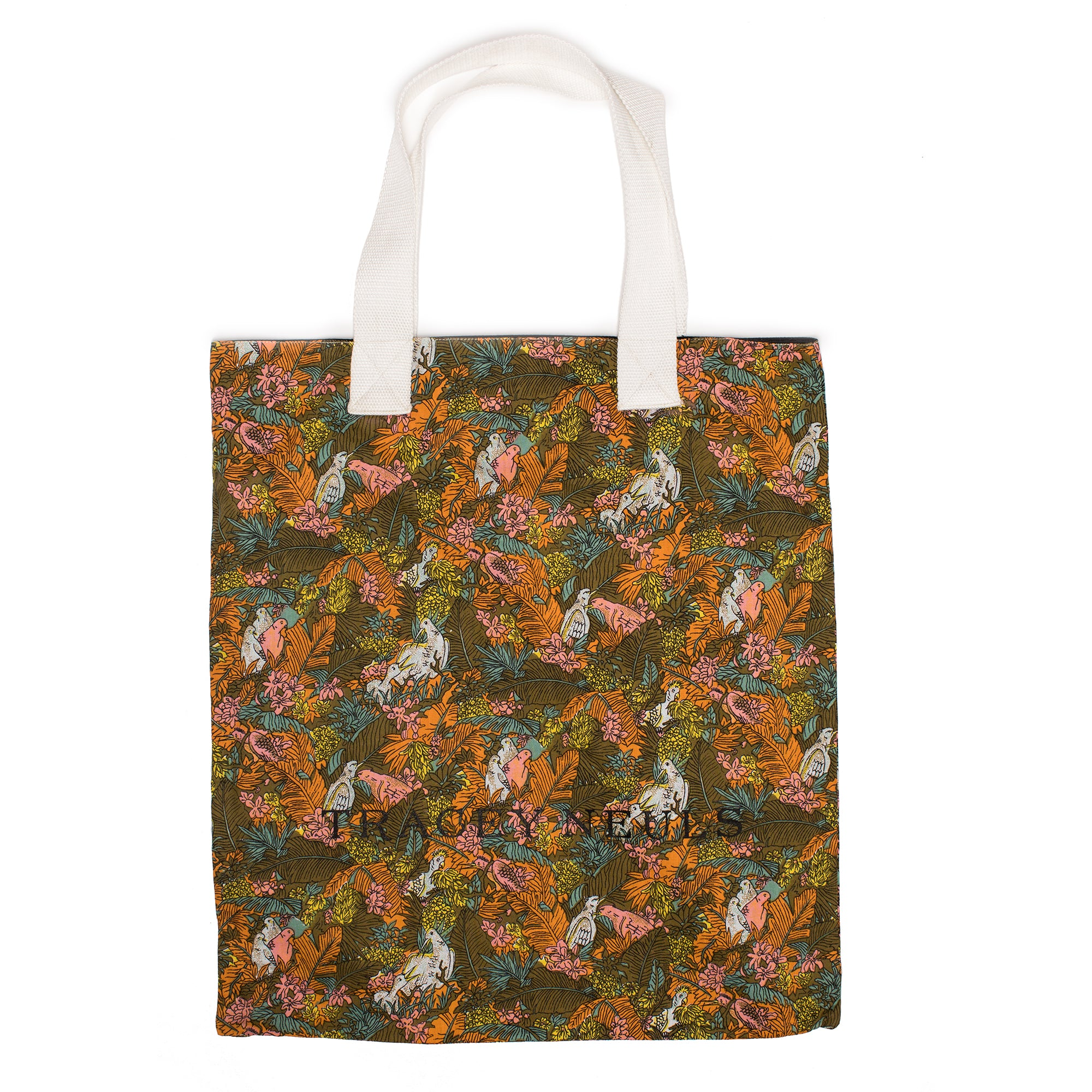 TOTE BAG reversible vintage print