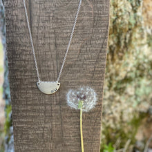 Load image into Gallery viewer, Personalized Jewelry | Half Moon Necklace