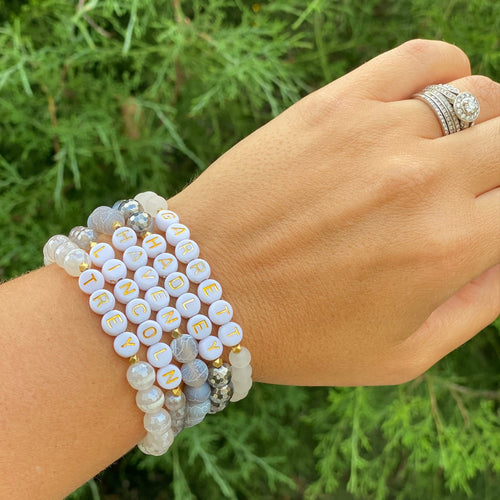 Gemstone Jewelry | Momma Stack {The Remix}