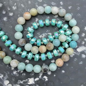 Jewelry Kit | Amazonite+Glass