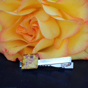 Memory Flower Jewelry | Tie Clip