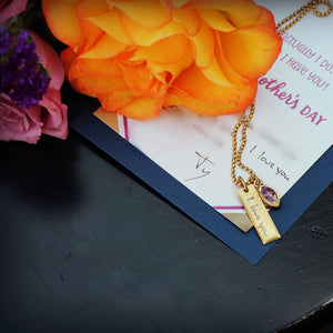 Handwriting Jewelry | Thin Bar With Organic Bezel