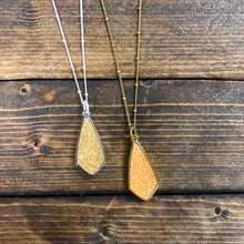 Load image into Gallery viewer, diamond druzy chain necklace