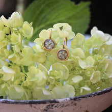 Load image into Gallery viewer, Memory Flower Jewelry | Itsy Round Earrings