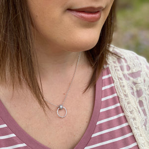 Gemstone Jewelry | Inner Circle Necklace