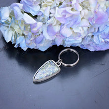 Load image into Gallery viewer, Memory Flower Jewelry | Shield Keychain