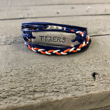 Load image into Gallery viewer, Personalized Jewelry | Team Spirit Leather Bracelet