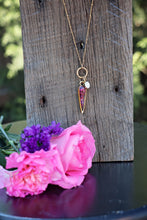 Load image into Gallery viewer, Memory Flower Jewelry | Inverted Drop Necklace