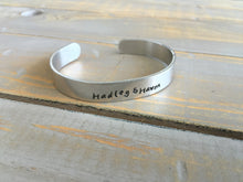Load image into Gallery viewer, Personalized Jewelry | Thick Metal Cuff