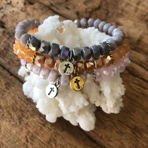 Gemstone Jewelry | Crystal Stack Bracelet