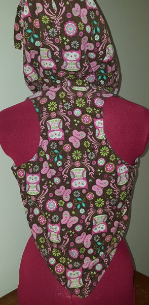 Butterfly and Owl Vest