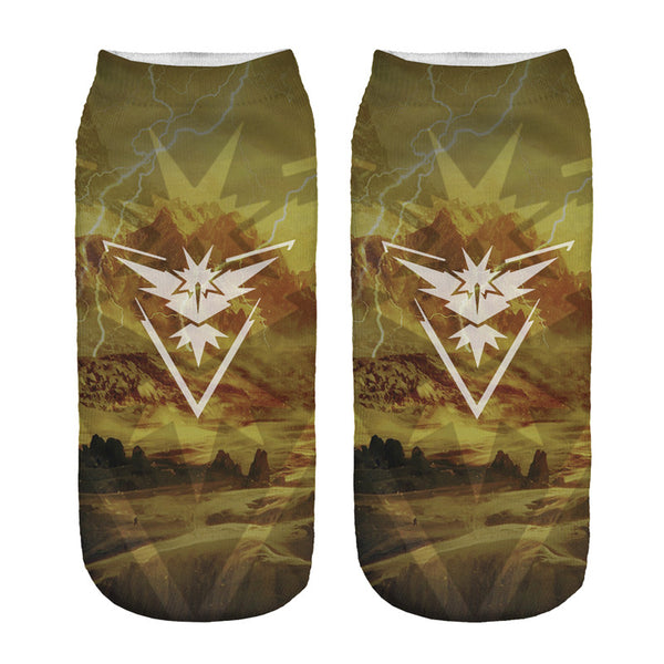 Team Instinct Graphic Unisex Low Cut Ankle Socks