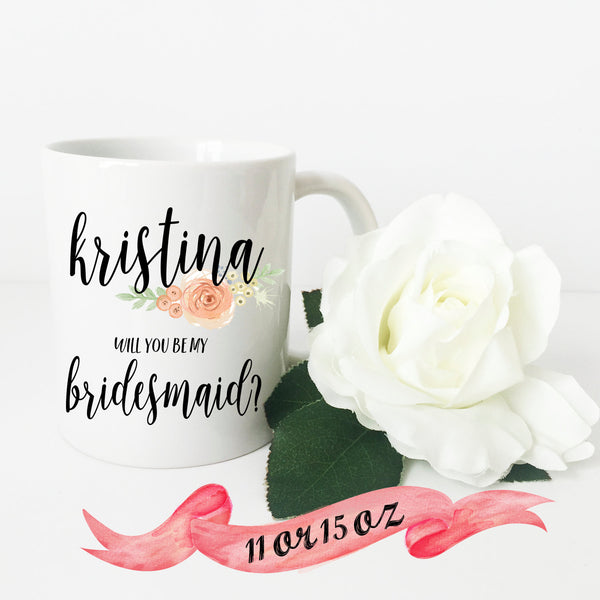 Bridesmaid Proposal Mug