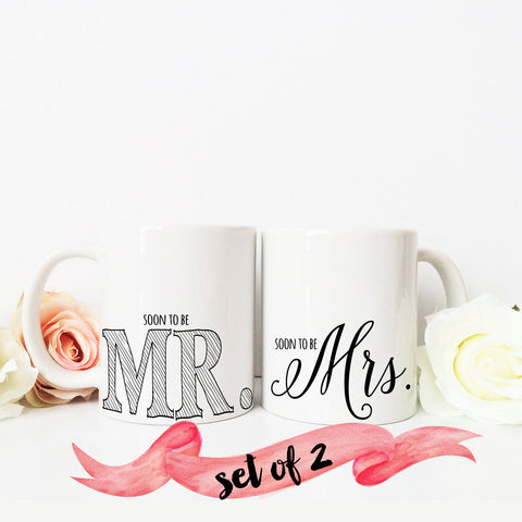 Soon to Be Mr & Mrs Mugs