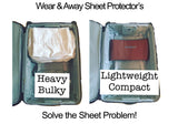 Wear & Away Competition Tan Sheet Protectors