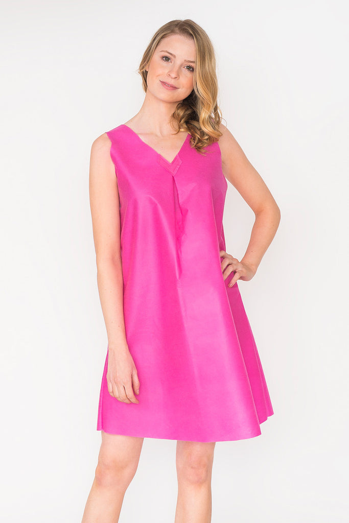 Little Tan Sheath Dress - Pinkberry