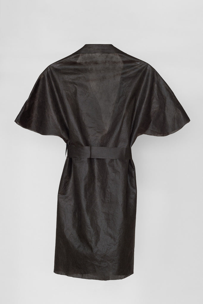 Wear & Away Robe back view for sunless tanning