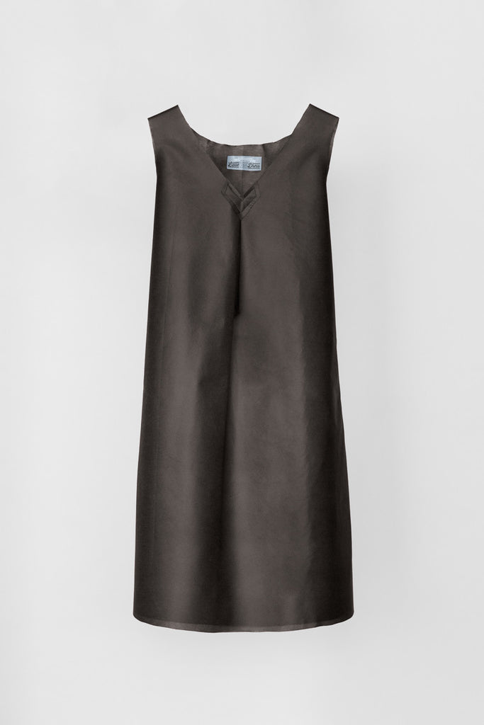 Little Tan Sheath Dress  - The No Mess Dress