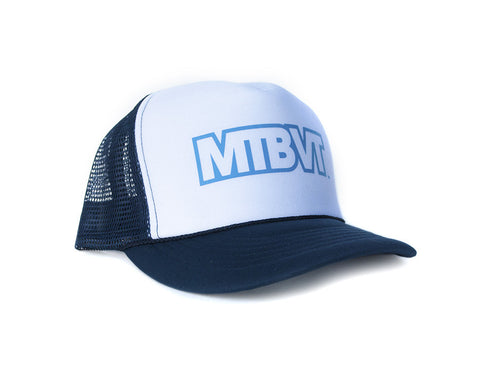 MTBVT Hat - Blue and White