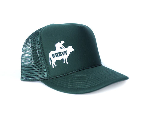 Mad Cow Hat - Green and White