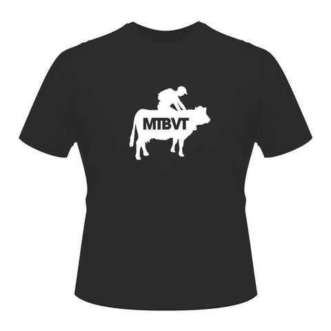 Mad Cow Tee - Charcoal