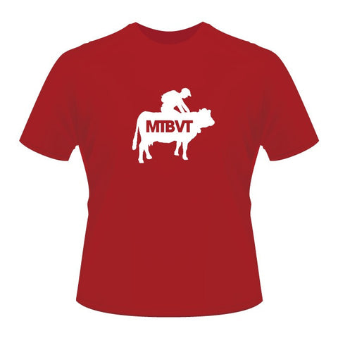 Mad Cow Tee - Red
