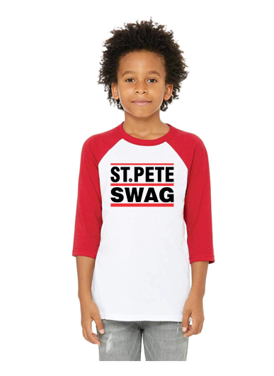Kids St. Pete Swag Qtr Sleeve