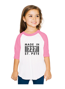Kids Made In 727 Qtr Sleeve
