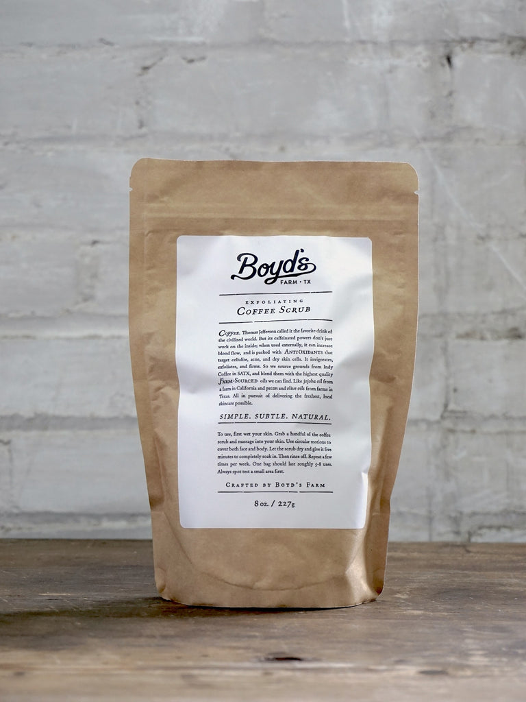 Coffee Scrub - Boyd's of Texas Fragrances - Natural Perfume