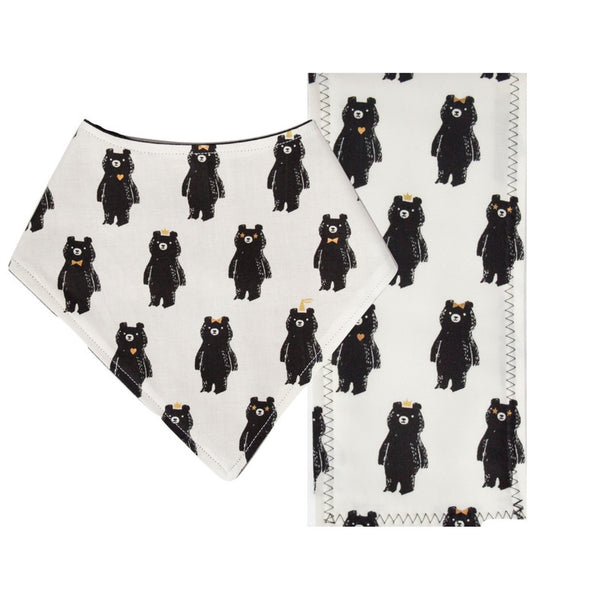Bear Cub has a Party // Bib + Burp and Oil