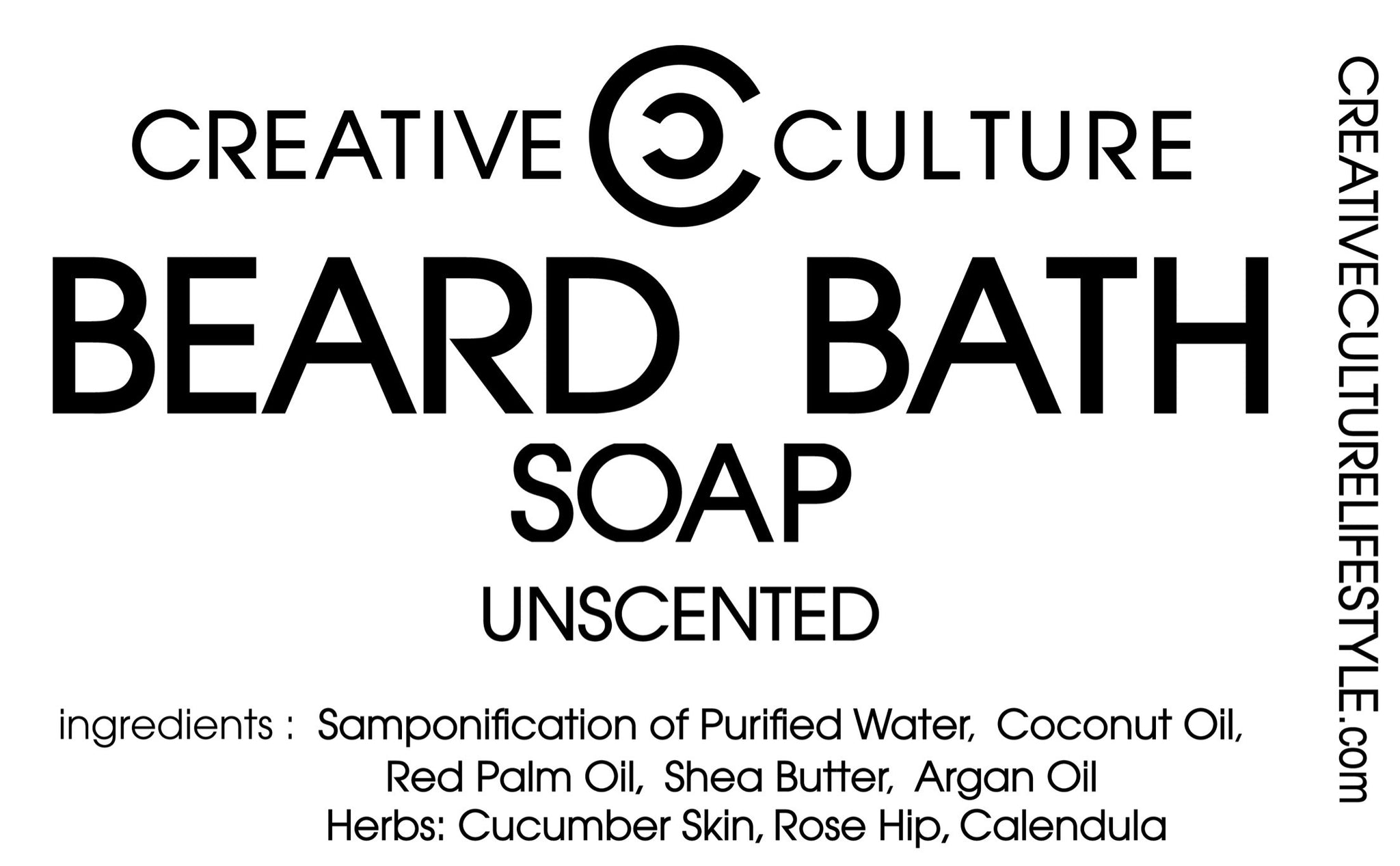 Creative Culture Beard Bath Soap