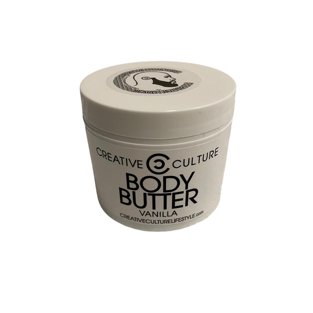 Body Butter Vanilla 5oz