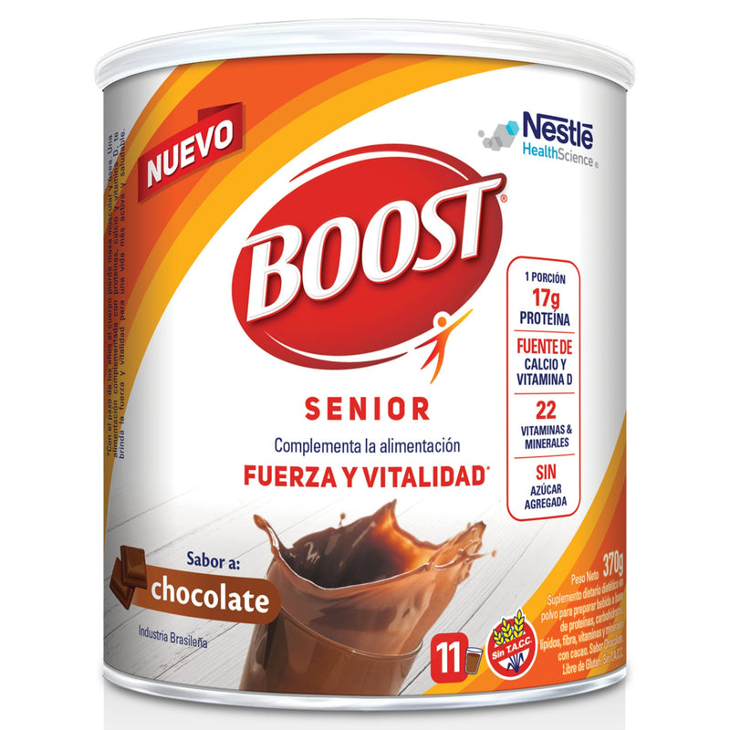 BOOST Chocolate Lata 370gr