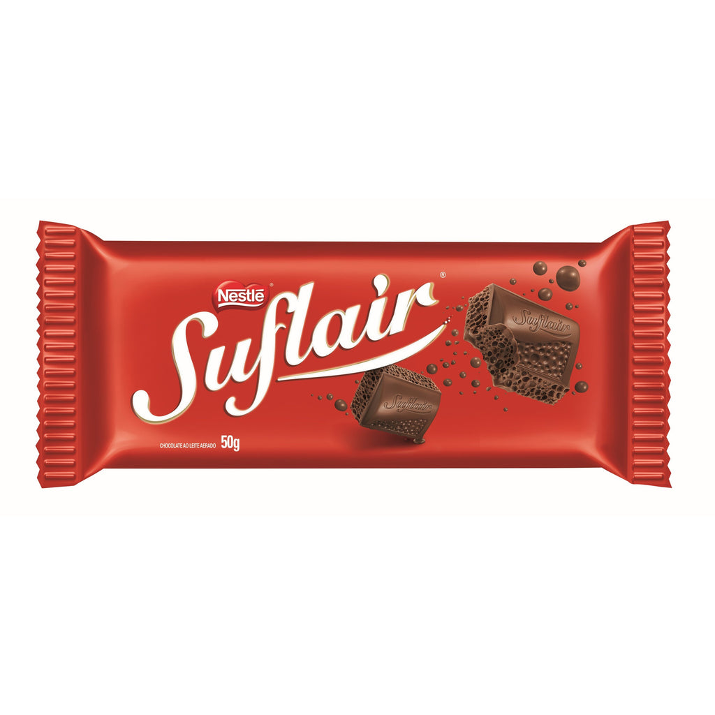SUFLAIR Chocolate Leite 20u x 50gr
