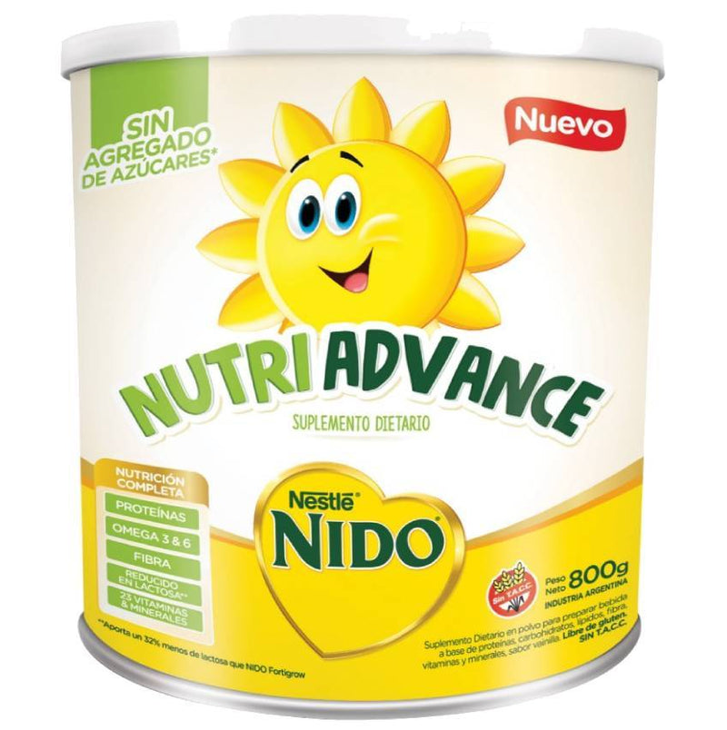 Nido Nutri Advance 800grs
