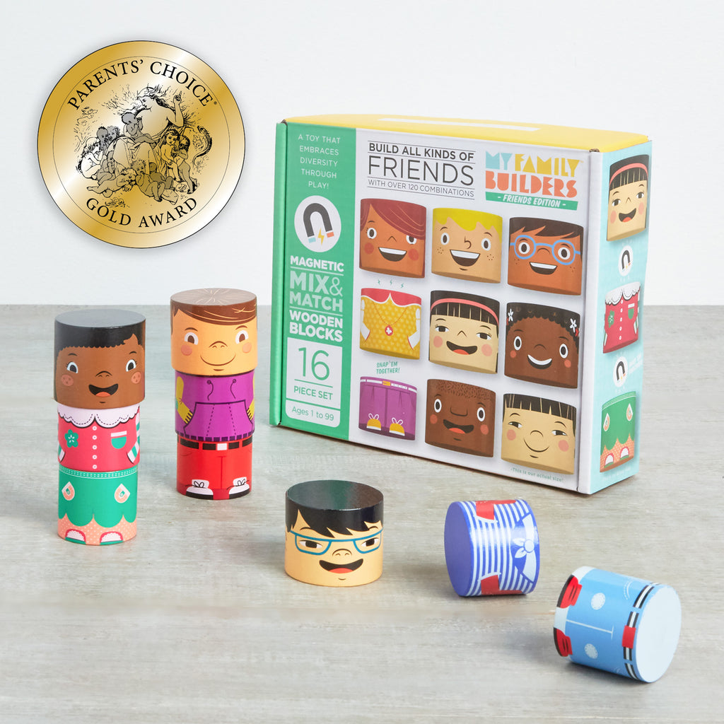 Family Diversity Blocks - Family Builders friends edition toys
