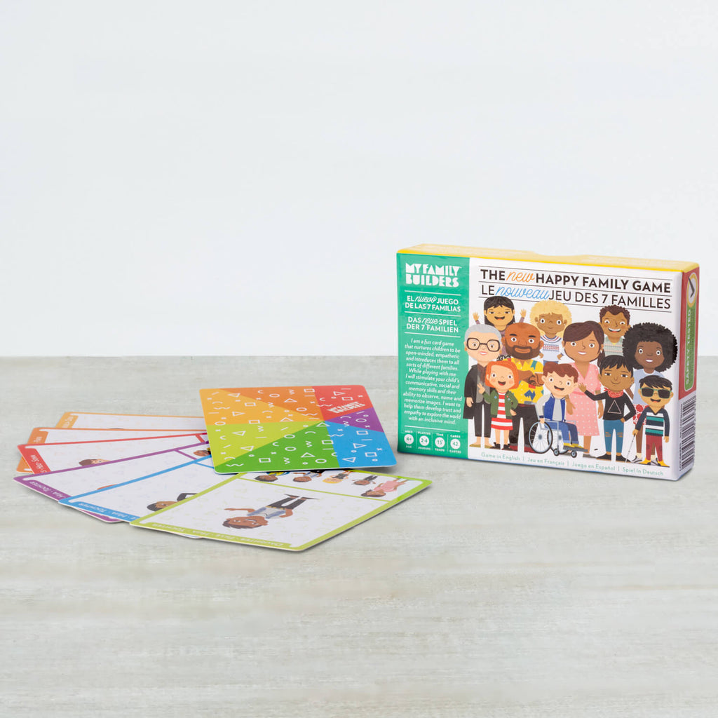 Happy Family Card Game · Le jeu de sept famille