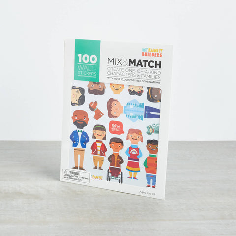 My Family Builders | Mix and Match Family Stickers