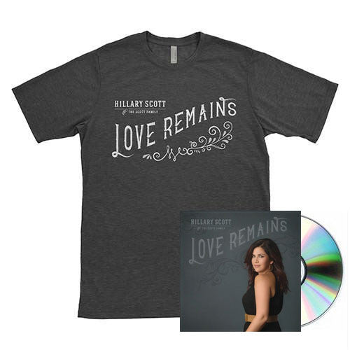 Love Remains CD + Shirt Bundle