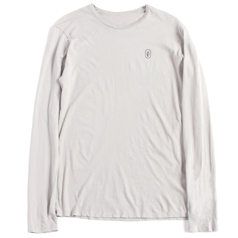 LONG-SLEEVE T-SHIRT, LIGHT GREY