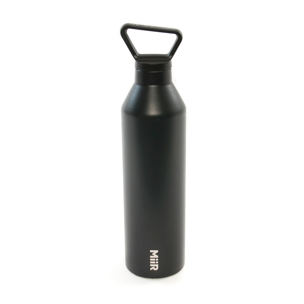YOGA VIDA WATER BOTTLE, BLACK