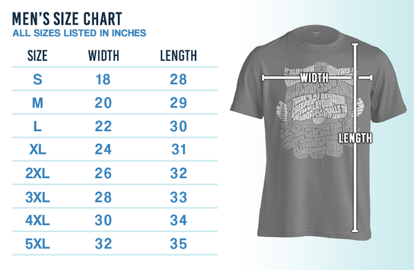 Men'sSizeChart