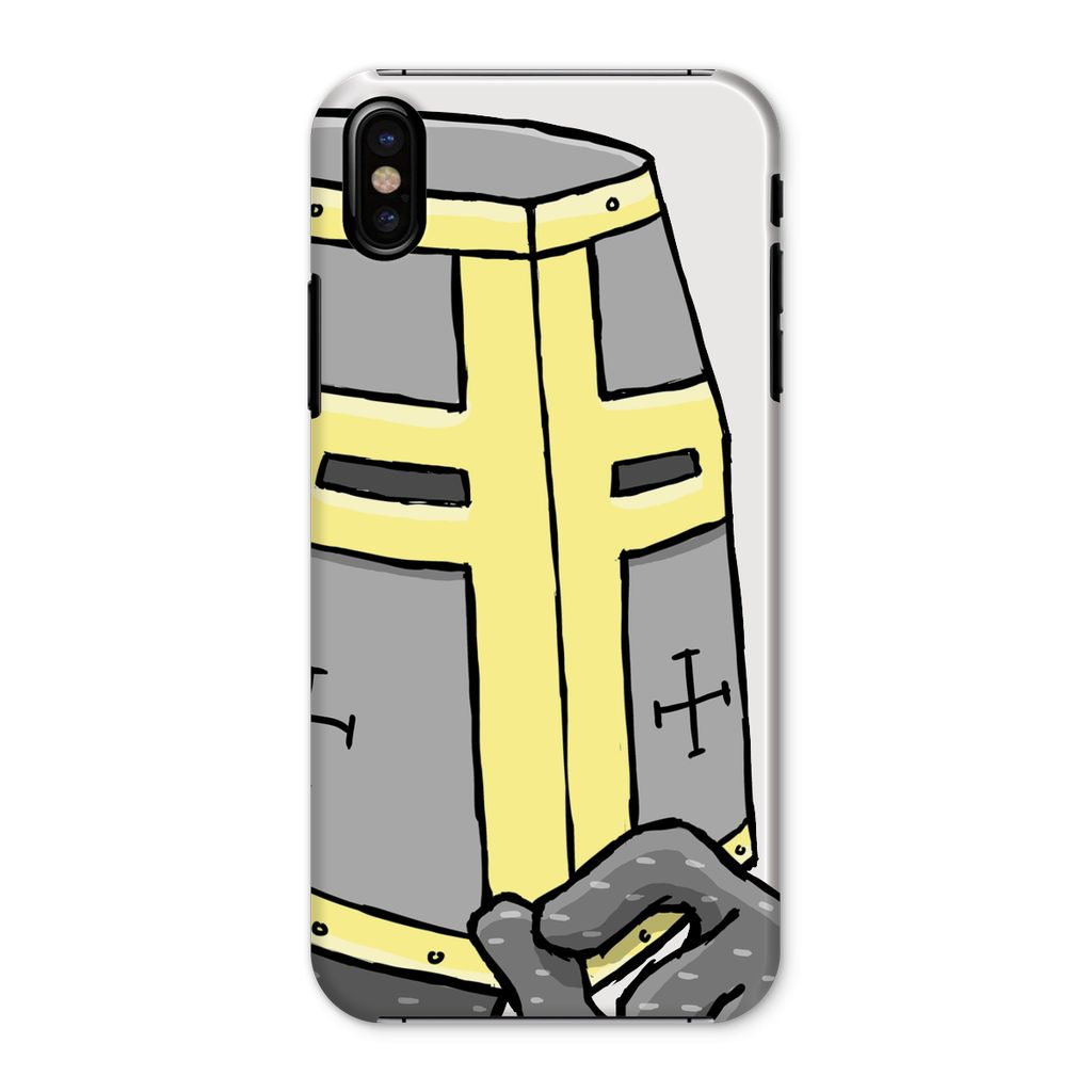 Spiffing Brit Crusader Phone Case